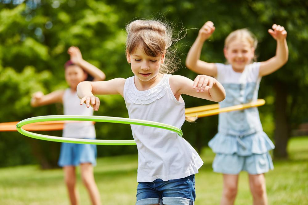 Children,Training,Their,Movement,Skills,In,The,Park