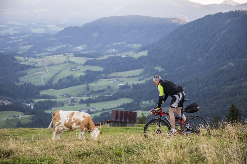 Abtenau mit dem Rad von Alm zu Alm 08.8.2019 Foto: Johannes
