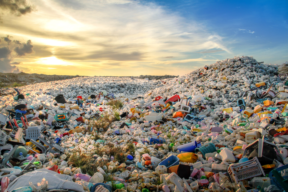 Waste,Plastic,Bottles,And,Other,Types,Of,Plastic,Waste,At
