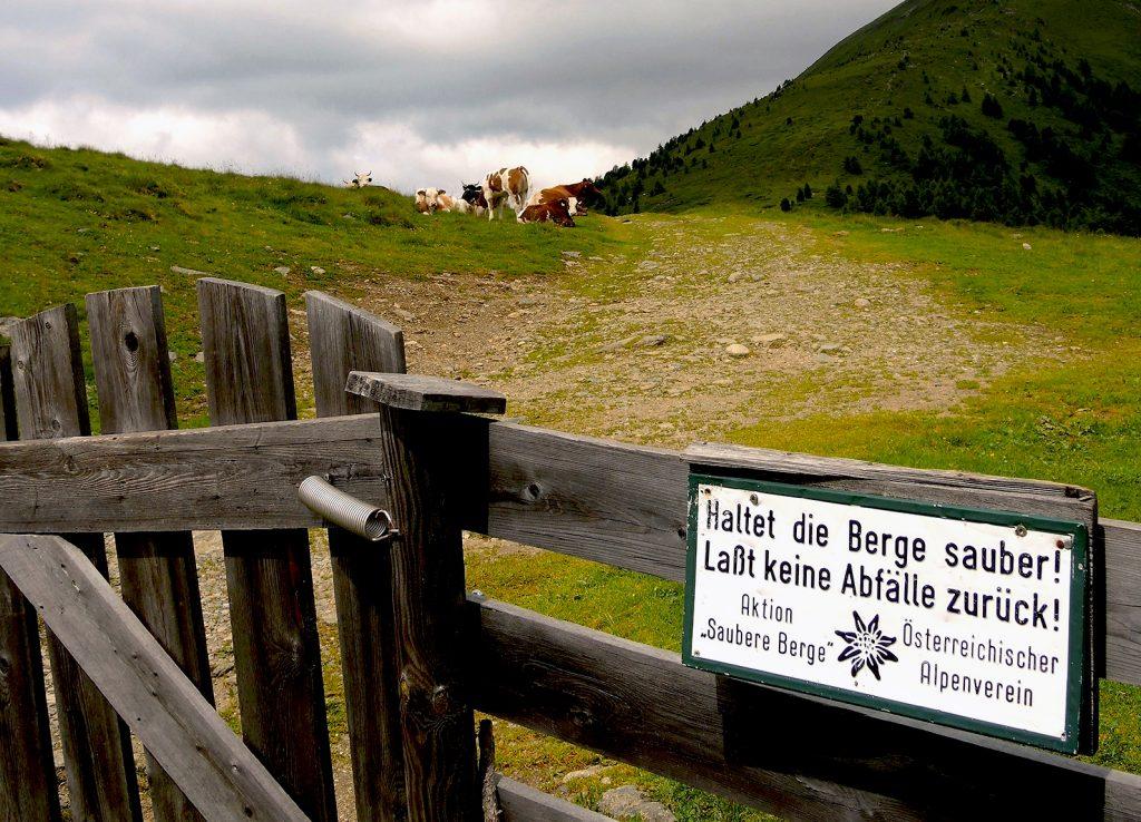 Bereits seit 1970 gibt es im Alpenverein die Aktion
