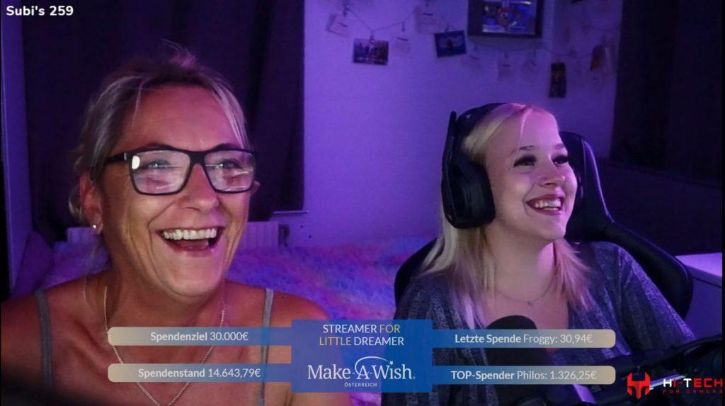 Make a wish streamer