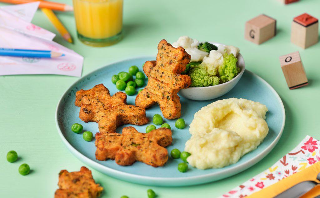 """Neue Speise """"Bärbl und Bärnd von Batate"""" – knusprige Süßkartoffel-Bärchen von GOURMET Kids (c) Gourmet"""